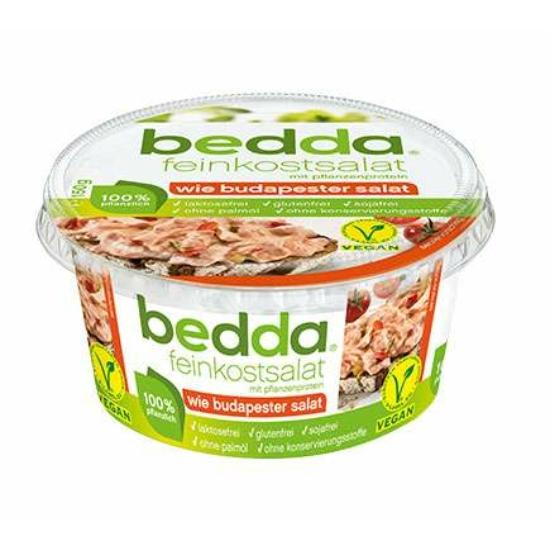 Bedda vegán Budapest saláta