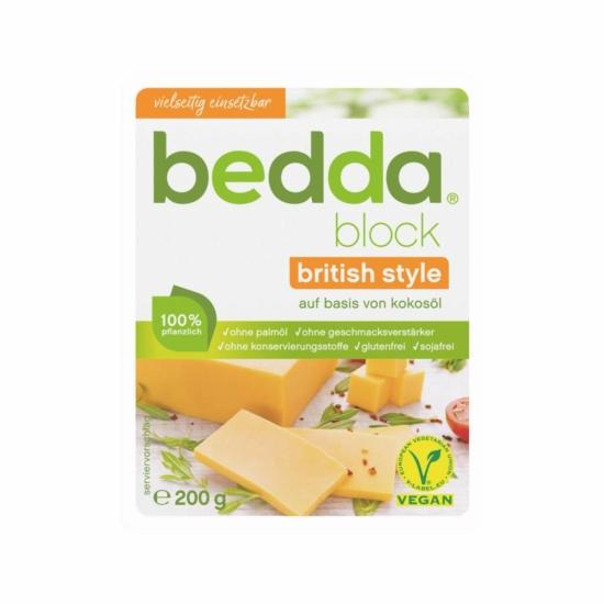 Bedda vegán British tömb
