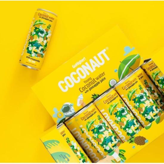 Coconaut ananászos kókuszvíz 12 db x 320ml - 1 karton
