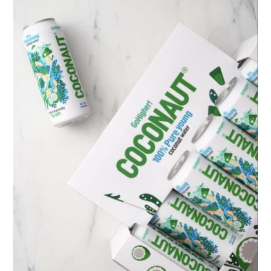 Coconaut natúr kókuszvíz 12 db x 500ml - 1 karton