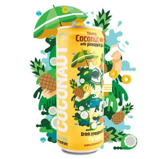 Coconaut kókuszvíz ananászlével 320 ml