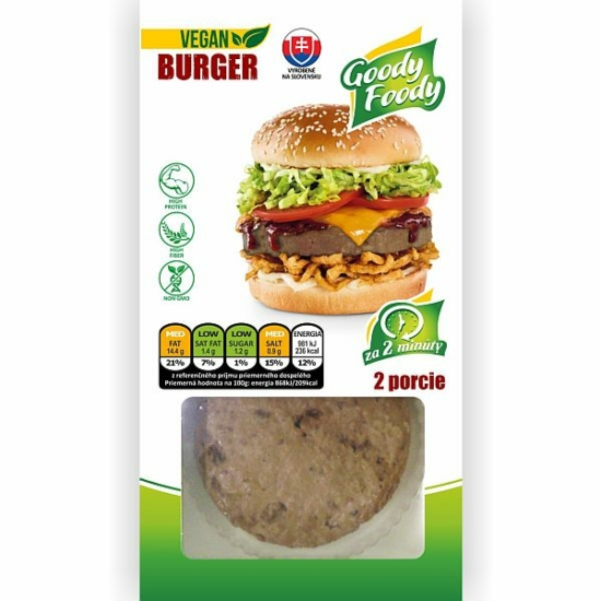 GF Vegán Burger