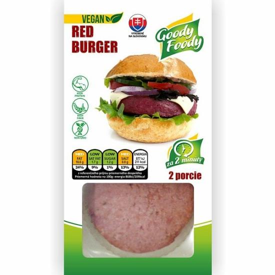 GF Vegán Red Burger